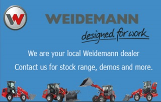 We are your local Weidemann dealer. Contact us for stock range, demos and more